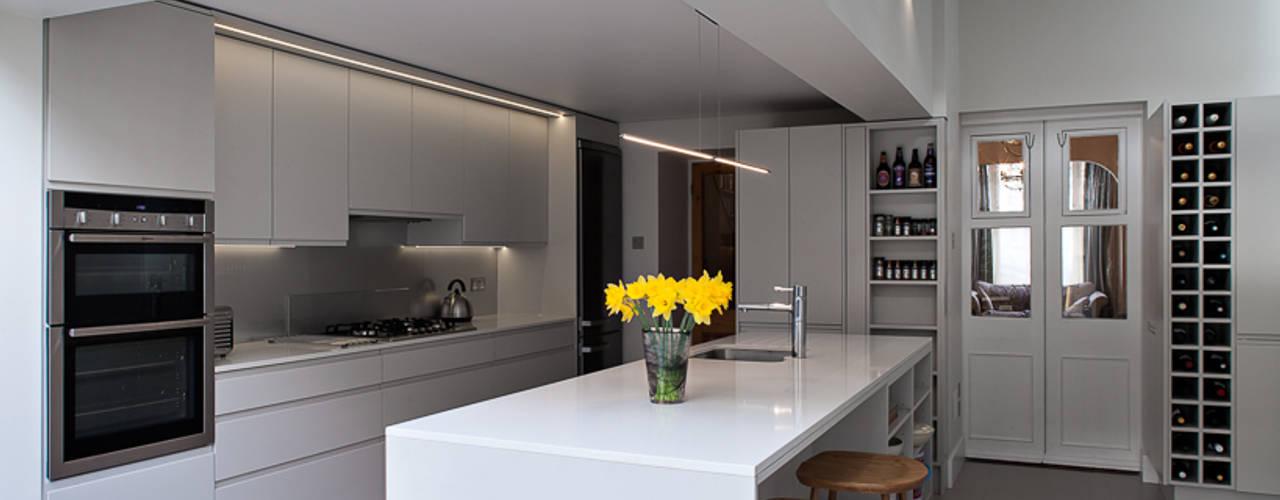 Highbury Town House Modern Mutfak APE Architecture & Design Ltd. Modern