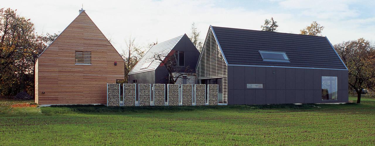 Projekty,  Domy zaprojektowane przez Markus Gentner Architekten