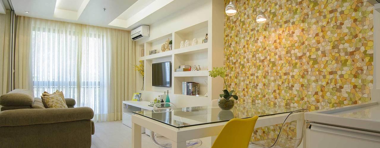 Sala de Jantar Integrada: Salas de jantar  por fpr Studio