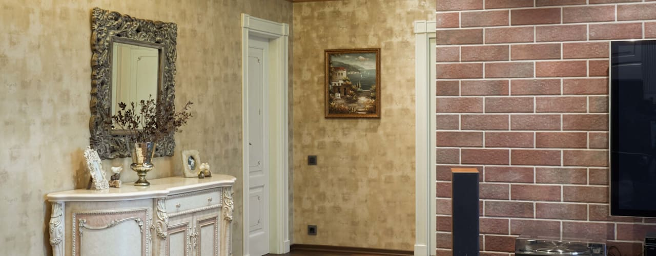 Eclectic style corridor, hallway & stairs by homify Eclectic