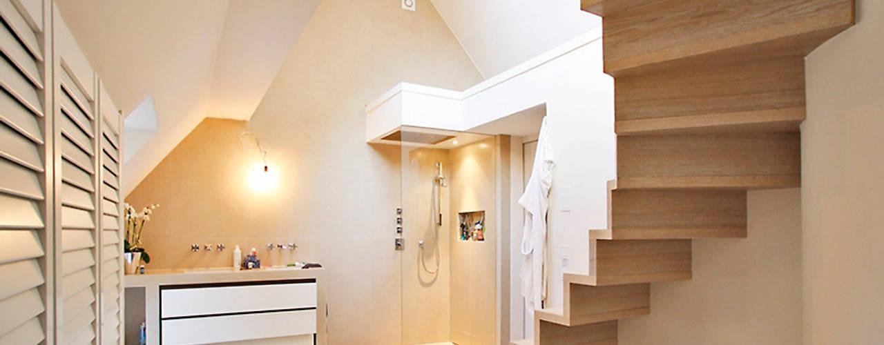 Bathroom by Architekturbüro Hans-Jürgen Lison, Modern