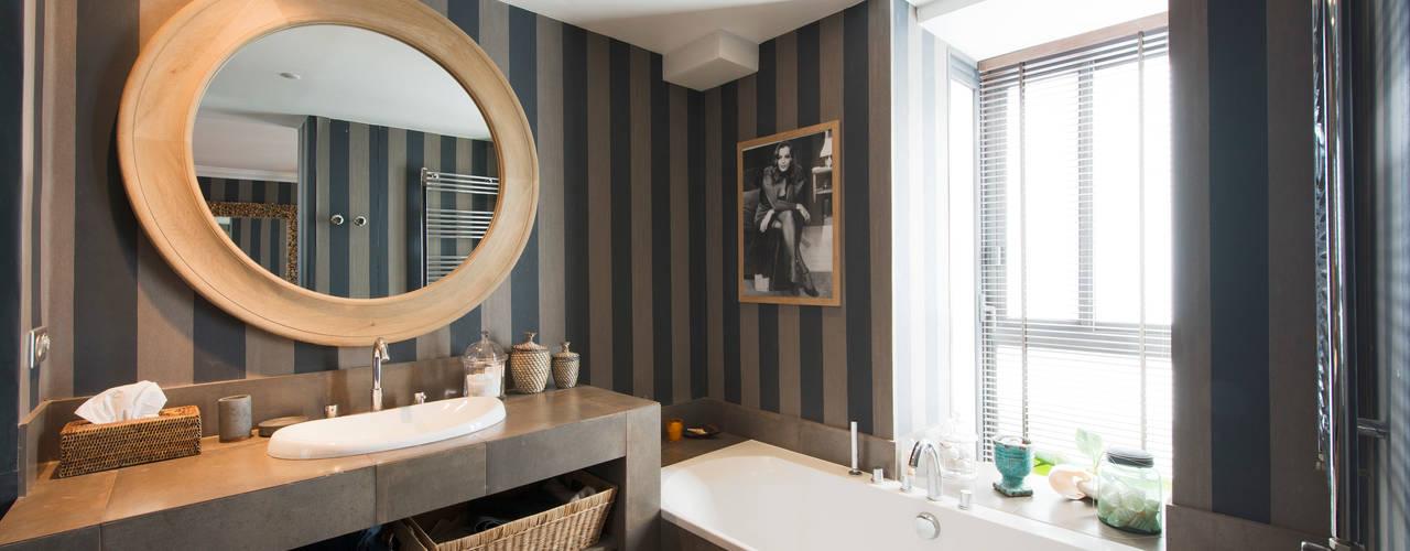 Appartement Caulaincourt Paris Hélène de Tassigny Salle de bain moderne