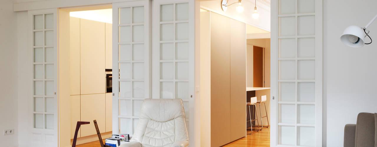 Salas de estilo  por Beriot, Bernardini arquitectos, Moderno