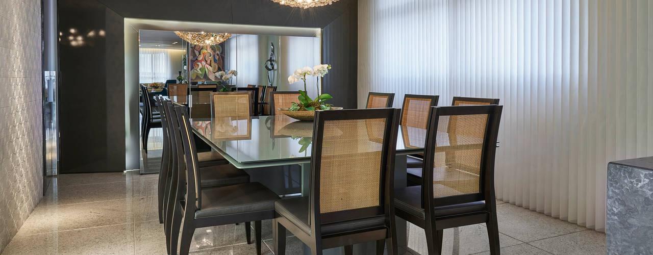Comedores de estilo  por Gislene Lopes Arquitetura e Design de Interiores