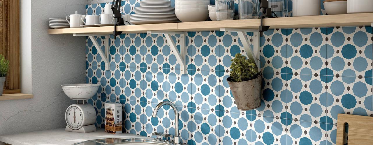 Cocinas de estilo  por Equipe Ceramicas,