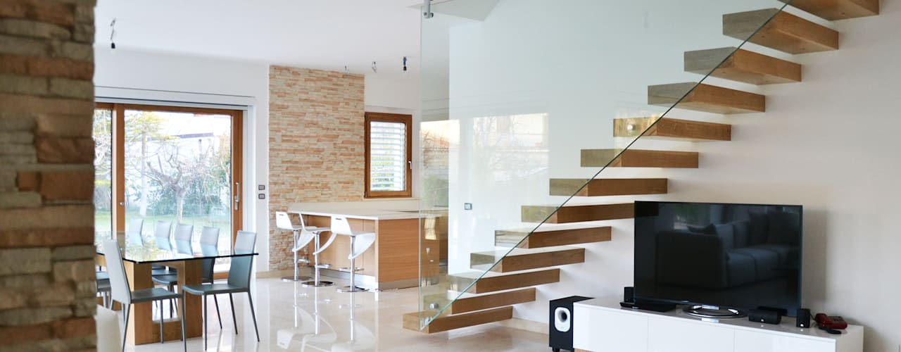 Livings de estilo  por Lucia D'Amato Architect