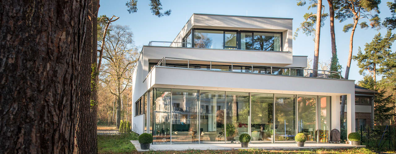 Projekty,  Domy zaprojektowane przez FLOW.Generalunternehmer