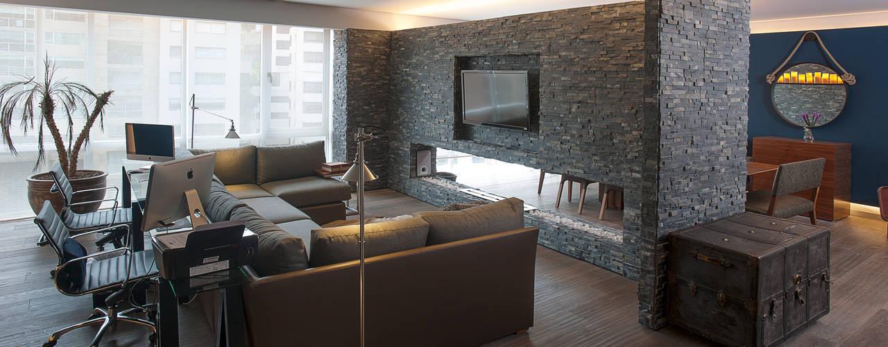 13 Ideas Para Decorar Tu Casa Con Piedra Y Que Luzca Muy Moderna - Decoracion-con-piedras-en-interiores