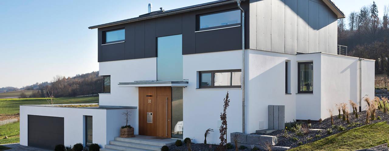 Projekty,  Domy zaprojektowane przez m67 architekten, Nowoczesny