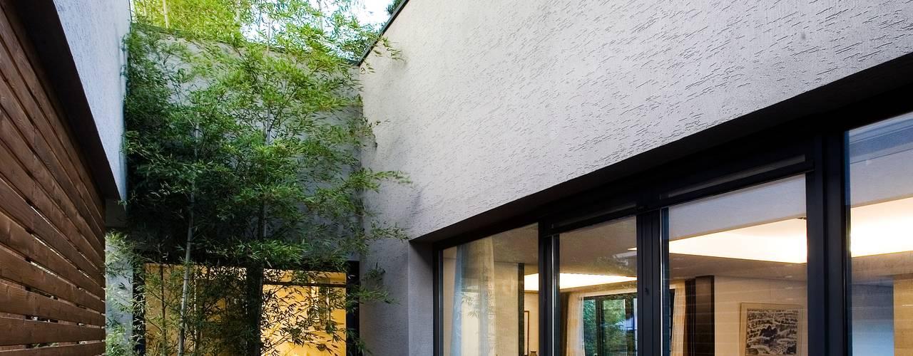 ระเบียง, นอกชาน by (주)단우에이앤에이 건축사사무소