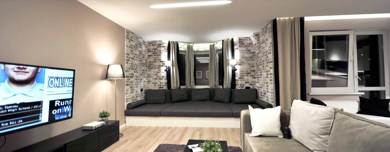 Квартира-студия Гостиная в стиле модерн от Elena Arsentyeva Модерн