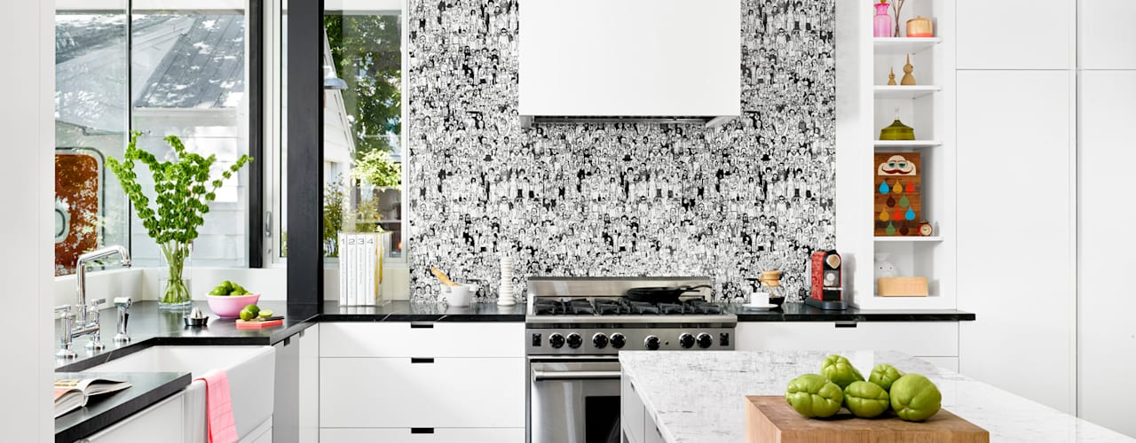 Cocinas de estilo  por Hugh Jefferson Randolph Architects