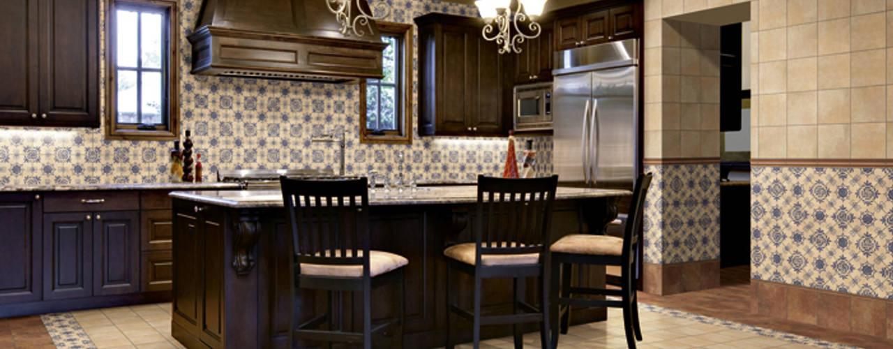 Azulejos rústicos INTERAZULEJO Cocinas de estilo rústico