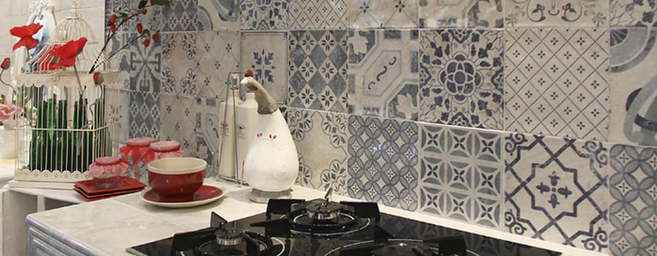 12 Ideas Para Revestir Tu Cocina Con Baldosa Rustica Quedara Preciosa - Azulejo-para-cocina-rustica
