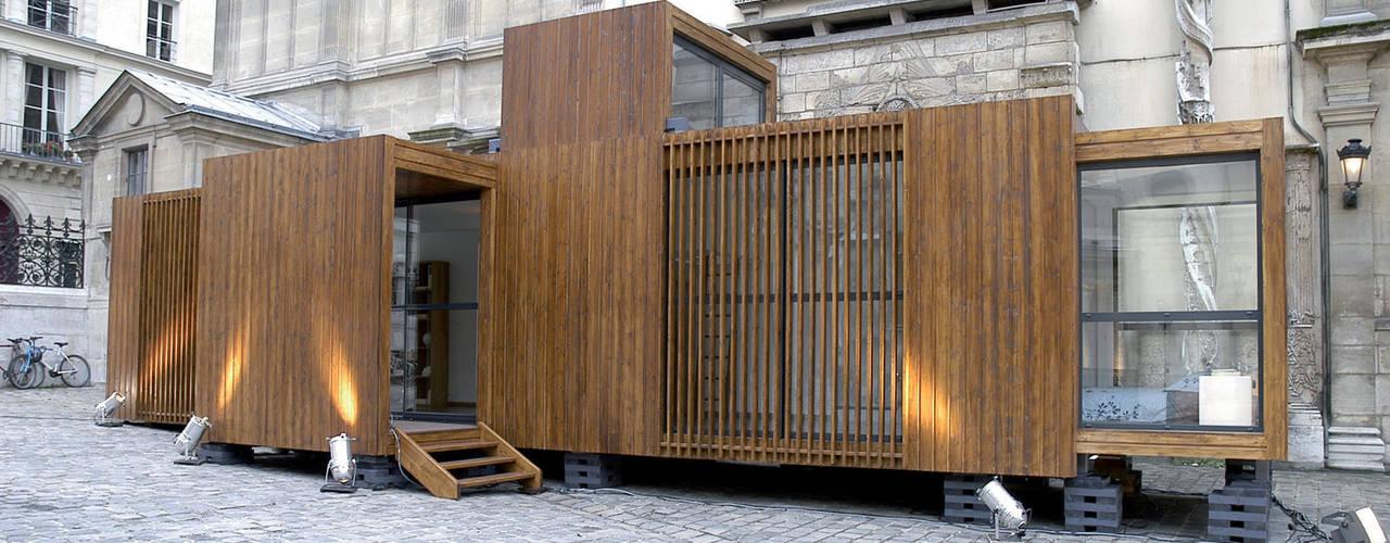 Casas estilo moderno: ideas, arquitectura e imágenes de D3 architectes Moderno