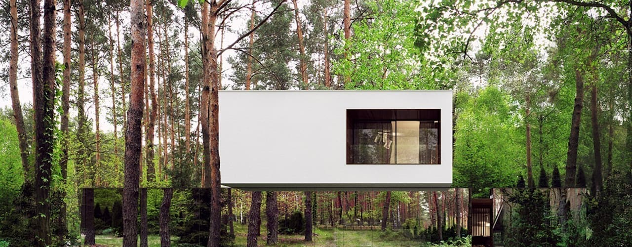 Casas de estilo  de REFORM Architekt Marcin Tomaszewski, Moderno