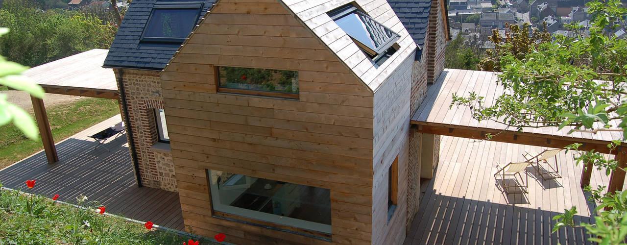 Casas  por Franklin Azzi Architecture,