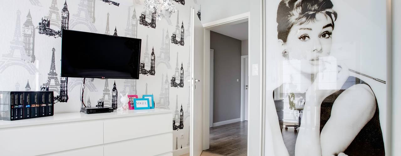 Dormitorios infantiles de estilo moderno de DK architektura wnętrz Moderno