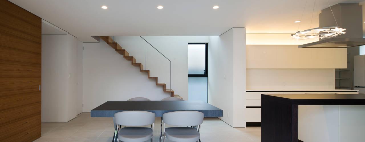 大津の家 オリジナルデザインの ダイニング の 井上久実設計室 オリジナル