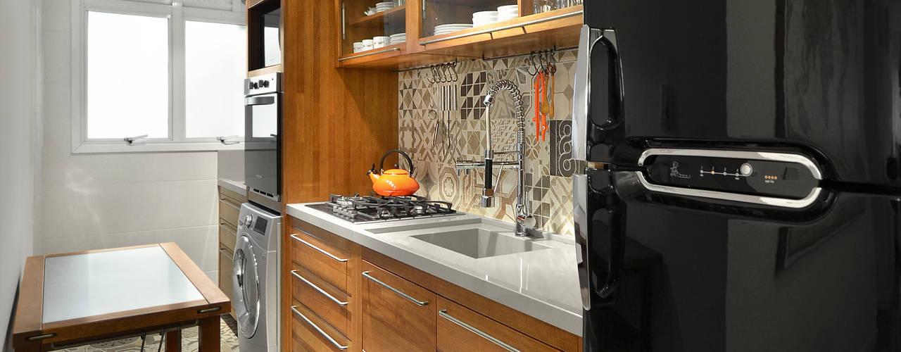 Projekty,  Kuchnia zaprojektowane przez Johnny Thomsen Design de Interiores