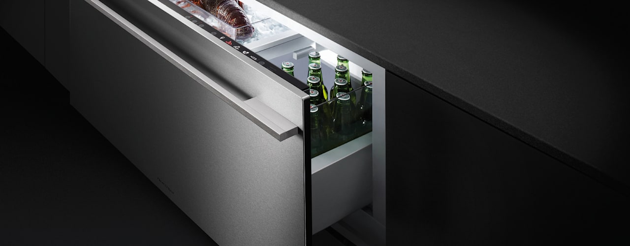 Multi-temperature Cool Drawer:   by Fisher & Paykel