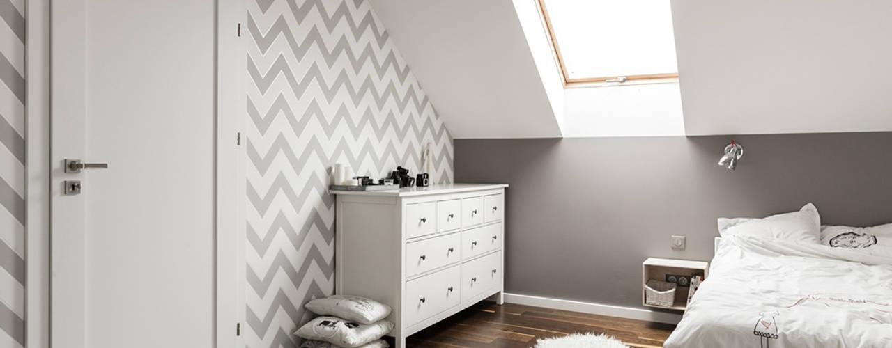 Scandinavian style bedroom by stabrawa.pl Scandinavian