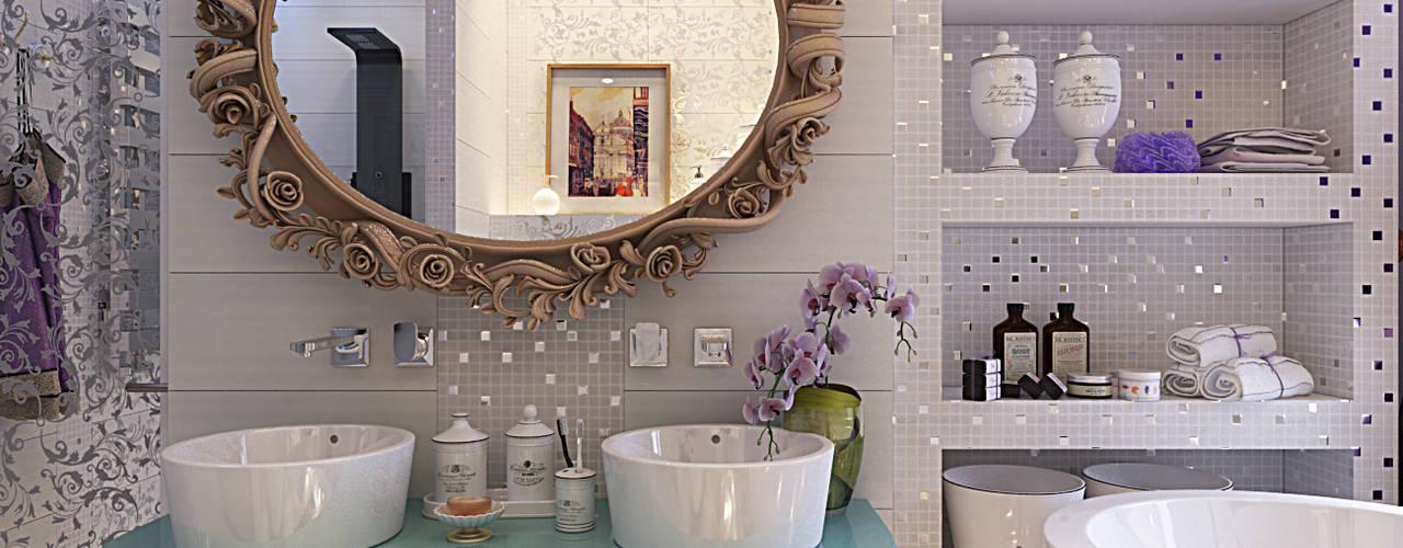 """Bathroom in the bedroom """"Provence"""": Ванные комнаты в . Автор – Your royal design"""