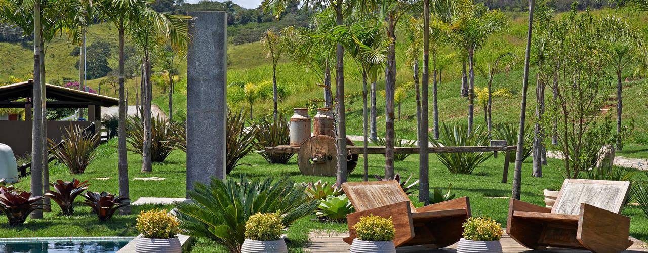 Rustik Bahçe Beth Marquez Interiores Rustik