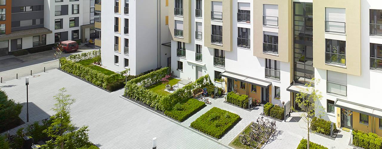 Vorgebirgsgärten Wohnungsbau Köln Moderne Häuser von Planquadrat Elfers Geskes Krämer Modern