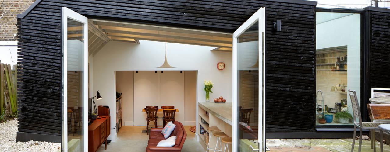 Projekty,  Salon zaprojektowane przez Fraher and Findlay, Nowoczesny