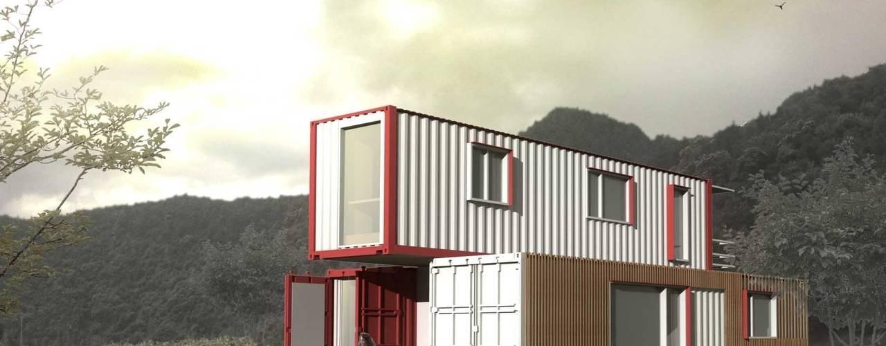 Casas de estilo  por thinkTREE Architects and Partners