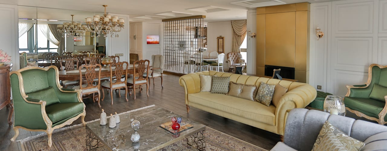 Classic style living room by PS MİMARLIK Classic