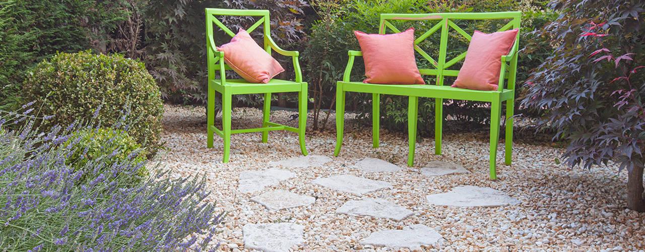 Jardins  por silvia delpiano studio e progettazione giardini, Eclético