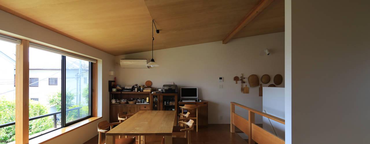 片瀬海岸の家 オリジナルデザインの ダイニング の 早田雄次郎建築設計事務所/Yujiro Hayata Architect & Associates オリジナル