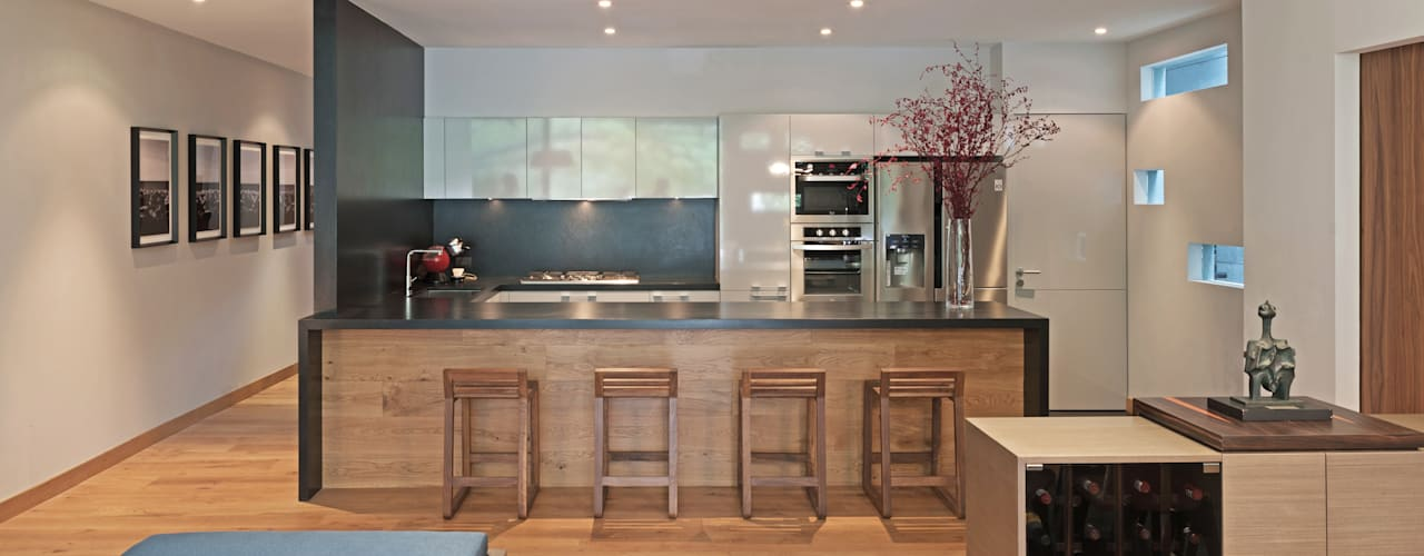 Cocinas de estilo moderno de Faci Leboreiro Arquitectura Moderno