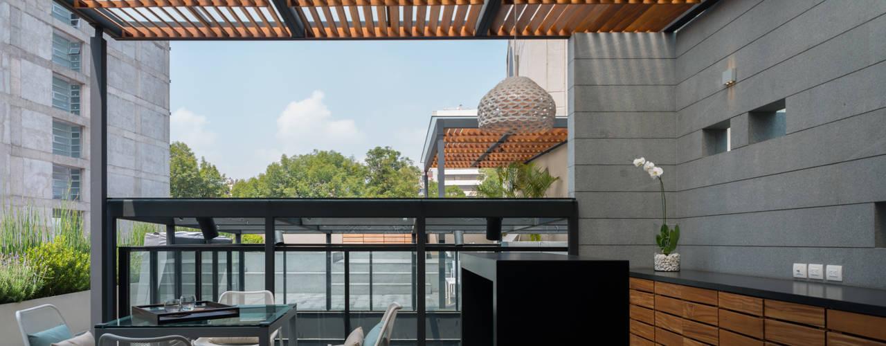 Terrazas de estilo  por Faci Leboreiro Arquitectura