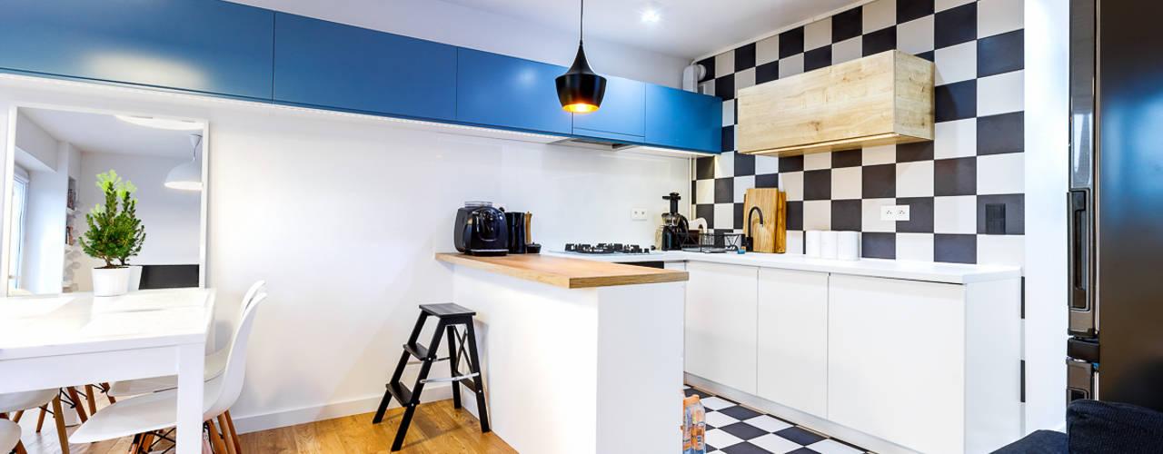 Modern kitchen by COCO Pracownia projektowania wnętrz Modern