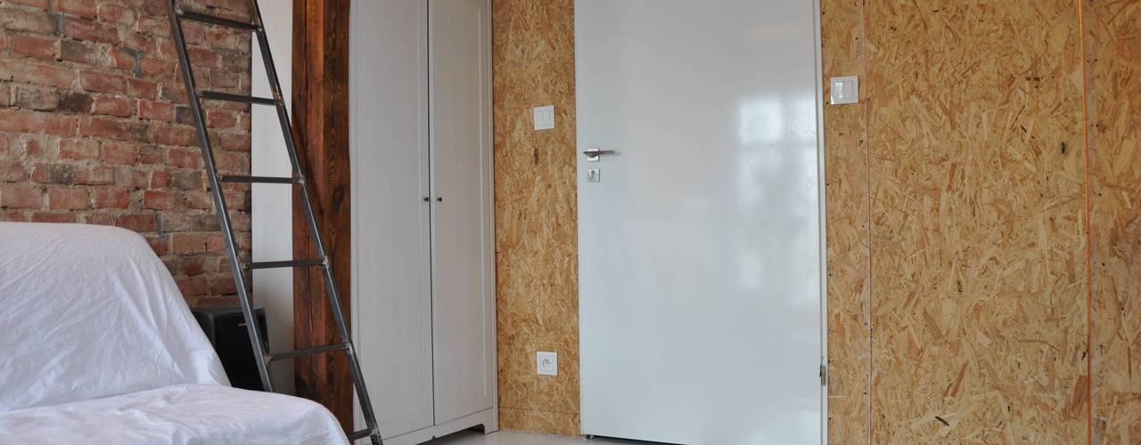 Industriële woonkamers van ENDE marcin lewandowicz Industrieel