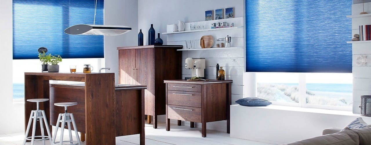 Tende plissè a vetro Lasciati Tendare Finestre & Porte in stile minimalista