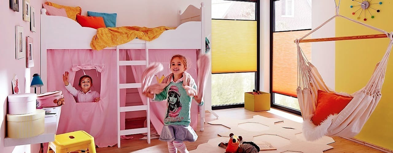 Realizzazioni ambientate Lasciati Tendare Stanza dei bambini moderna