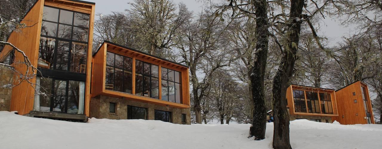 Projekty,  Hotele zaprojektowane przez Aguirre Arquitectura Patagonica
