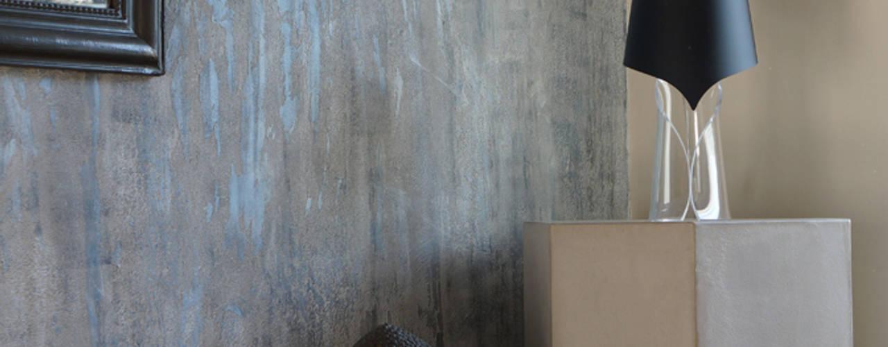 Béton Ciré: Salon de style  par ARTS BETON DESIGN - Créateur de béton haute couture
