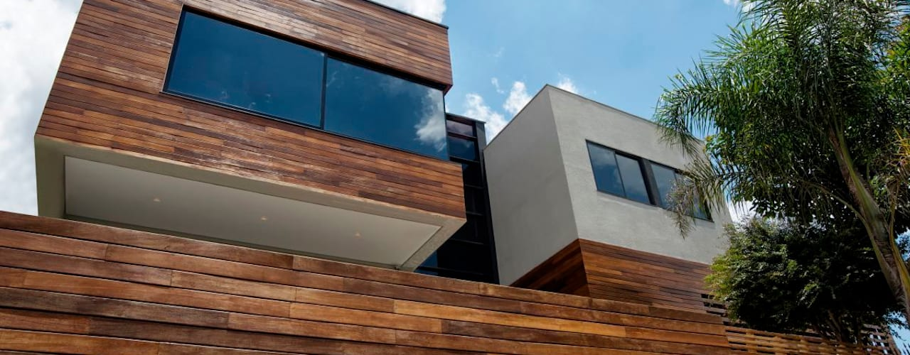 Casas de estilo  por Elmor Arquitetura