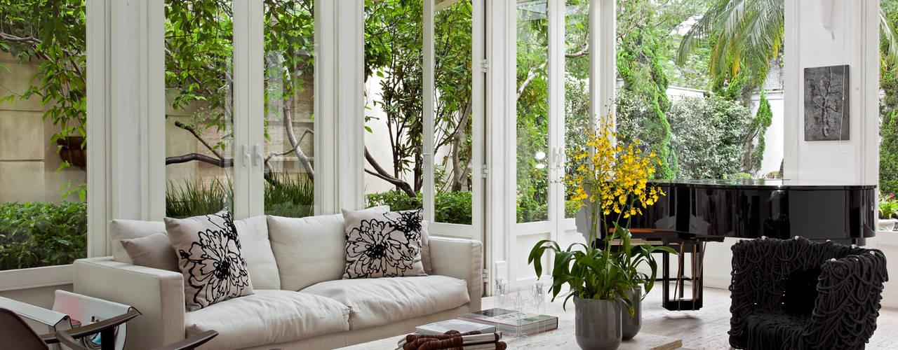 Modern conservatory by CSDA Arquitetura e Interiores Modern
