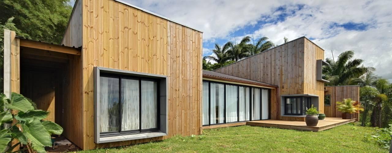 Egzotyczne domy od T&T architecture Egzotyczny