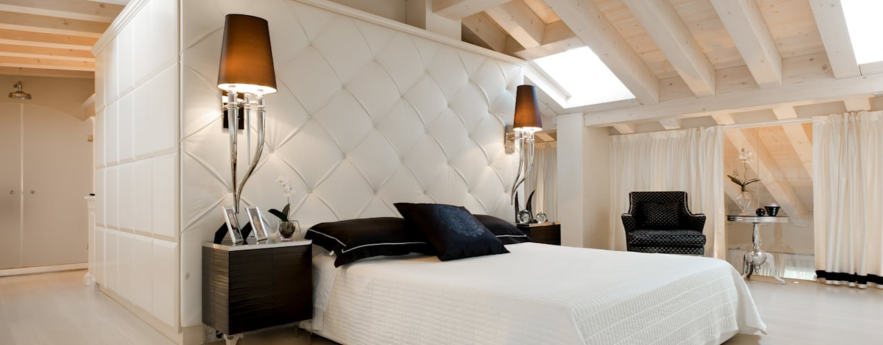 Eclectic style bedroom by STUDIO CERON & CERON Eclectic