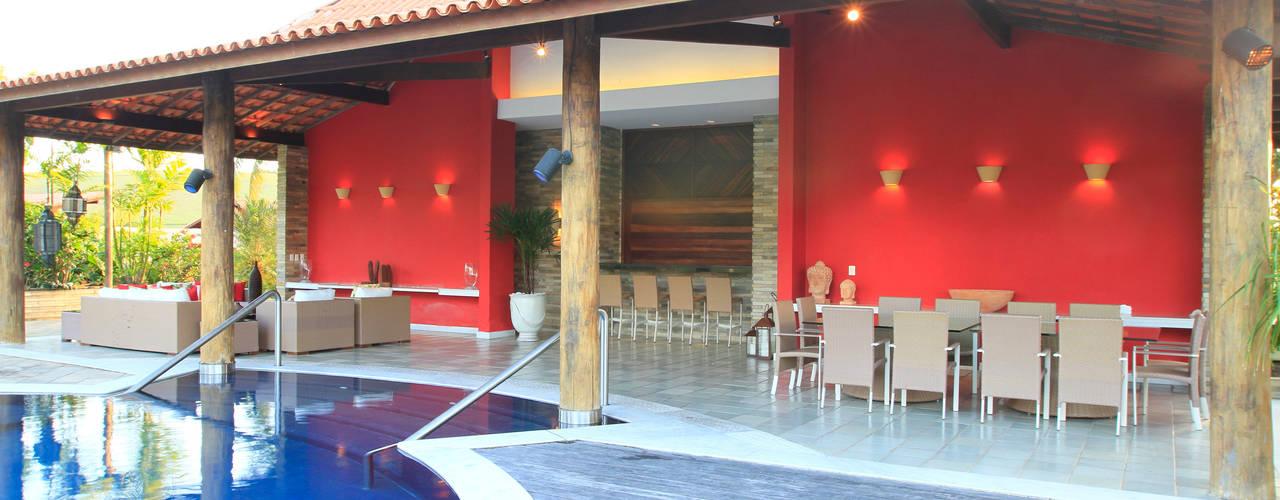 Casas de estilo  por Andréa Calabria Arquitetura
