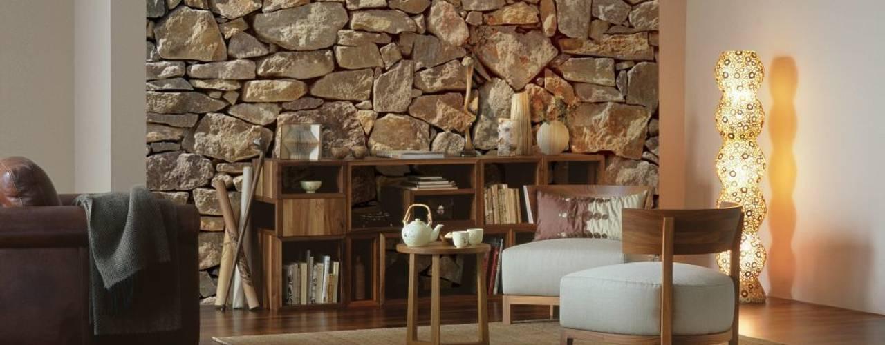 Stone Wall Mural ref 8-727 od Paper Moon Wiejski