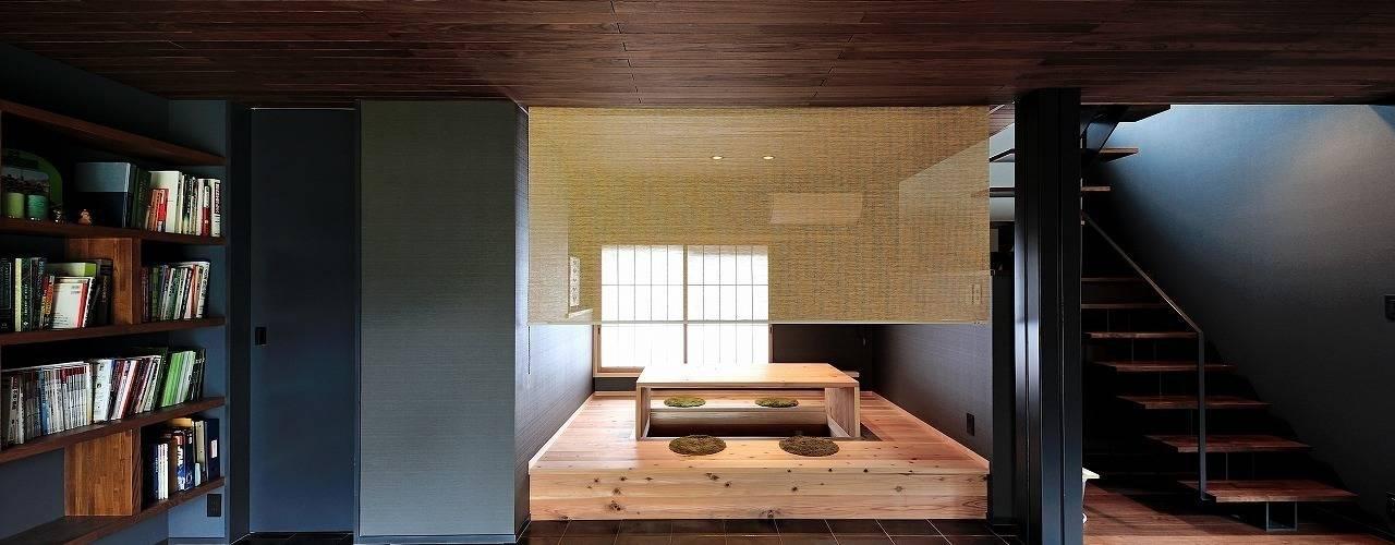 伊部の家/House in Inbe: アトリエセッテン一級建築士事務所が手掛けた和室です。,モダン