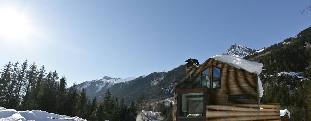 Projekty,  Domy zaprojektowane przez Chevallier Architectes